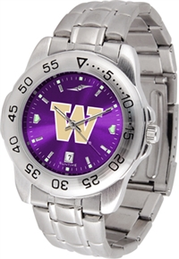 Washington Huskies Sport Steel Watch - AnoChrome Dial
