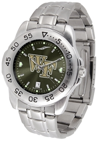 Wake Forest Demon Deacons Sport Steel Watch - AnoChrome Dial