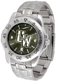 Wyoming Cowboys Sport Steel Watch - AnoChrome Dial