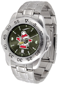 Youngstown State Penguins Sport Steel Watch - AnoChrome Dial