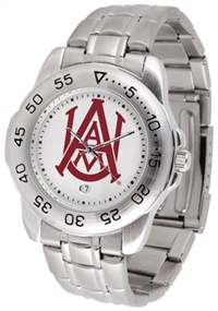 Alabama A&M Bulldogs Sport Steel Watch