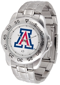Arizona Wildcats Sport Steel Watch