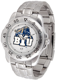 Brigham Young Cougars Sport Steel Watch