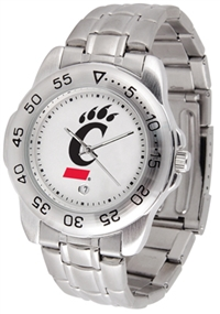Cincinnati Bearcats Sport Steel Watch