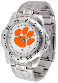 Clemson Tigers Sport Steel Watch