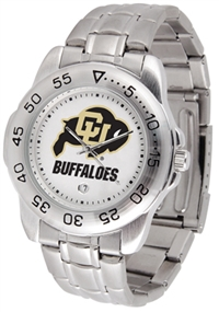 Colorado Buffaloes Sport Steel Watch