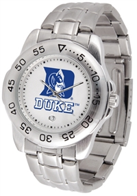 Duke Blue Devils Sport Steel Watch
