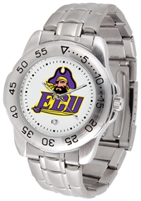 East Carolina Pirates Sport Steel Watch