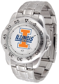 Illinois Fighting Illini Sport Steel Watch