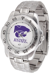 Kansas State Wildcats Sport Steel Watch