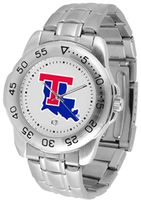 Louisiana Tech (LA Tech) Bulldogs Sport Steel Watch