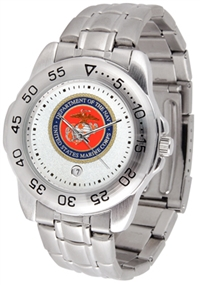 United States Marines Sport Steel Watch