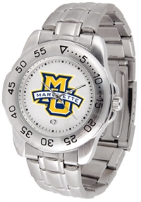 Marquette Golden Eagles Sport Steel Watch