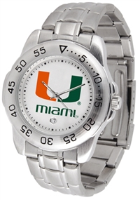 Miami Hurricanes Sport Steel Watch