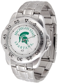 Michigan State Spartans Sport Steel Watch