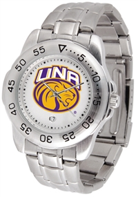 North Alabama Lions UNA Sport Steel Watch