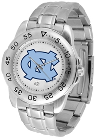 North Carolina Tarheels Sport Steel Watch