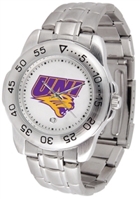 Northern Iowa Panthers Sport Steel Watch