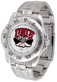 UNLV Runnin' Rebels Sport Steel Watch