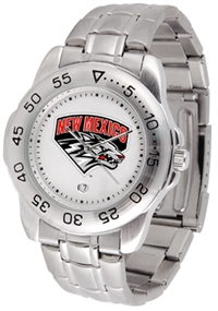 New Mexico Lobos Sport Steel Watch