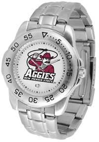 New Mexico State Aggies Sport Steel Watch