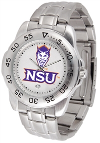 Northwestern State University Demons Sport Steel Watch