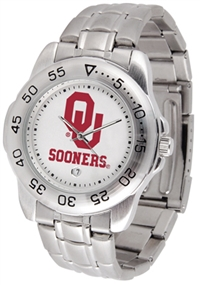 Oklahoma Sooners Sport Steel Watch