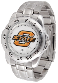 Oklahoma State Cowboys Sport Steel Watch
