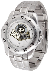 Purdue Boilermakers Sport Steel Watch
