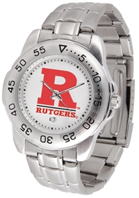 Rutgers Scarlet Knights Sport Steel Watch