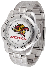 San Diego State Aztecs Sport Steel Watch