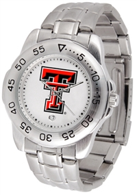 Texas Tech Red Raiders Sport Steel Watch