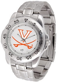 Virginia Cavaliers Sport Steel Watch