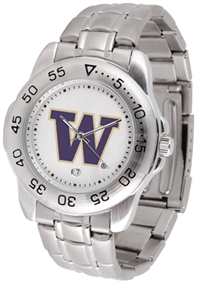Washington Huskies Sport Steel Watch