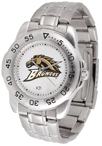 Western Michigan Broncos Sport Steel Watch