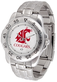 Washington State Cougars Sport Steel Watch