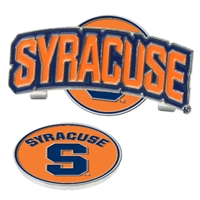 Syracuse Orange Slider Hat Clip Ball Marker