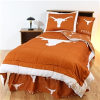 Texas (UT) Longhorns Bed in a Bag Full - With Team Colored Sheets