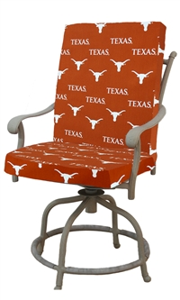 Texas (UT) Longhorns 2pc Chair Cushion