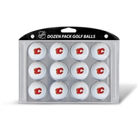 Calgary Flames NHL Dozen Ball Pack