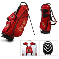 Calgary Flames NHL Stand Bag - 14 way (Fairway)