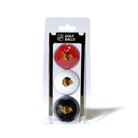 Chicago Blackhawks NHL 3 Ball Pack