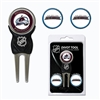 Colorado Avalanche NHL Divot Tool Pack w/Signature Tool