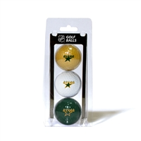 Dallas Stars NHL 3 Ball Pack