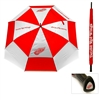 Detroit Red Wings NHL 62 inch Double Canopy Umbrella