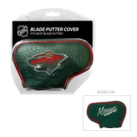 Minnesota Wild NHL Putter Cover - Blade