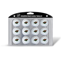 Minnesota Wild NHL Dozen Ball Pack