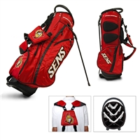 Ottawa Senators NHL Stand Bag - 14 way (Fairway)