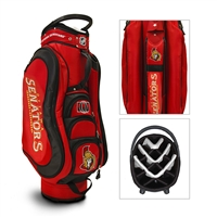 Ottawa Senators NHL Cart Bag - 14 way Medalist