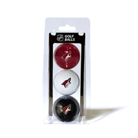 Phoenix Coyotes NHL 3 Ball Pack